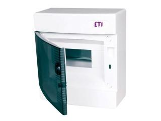 Rozvaděčová skříň ECT8PT průhledná dvířka