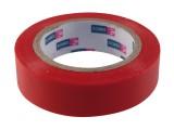Izolační páska PVC 15mm x 10m červená