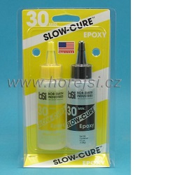 BSI Slow-Cure Epoxy 30min 128g lepidlo