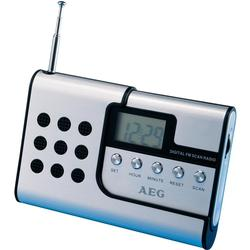 Hliníkové rádio AEG DRR 4107 cestovní