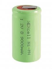 Nexcell D NiMH 9000mAh 1,2V páskový Akumulátor