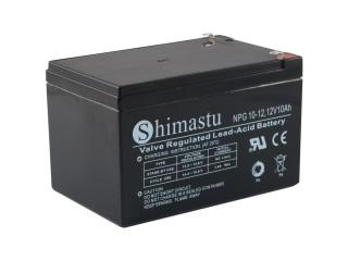 Baterie Shimastu NPG10-12, 12V/10Ah akumulátor