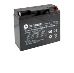 Baterie Shimastu 12V/18Ah NPG18-12 Olověný akum.