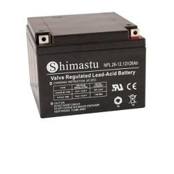 Baterie Shimastu 12V/26Ah NPL26-12 longlife
