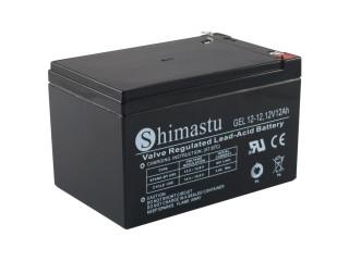 Baterie SHIMASTU 12-12 12V/12Ah Olověný akumulátor