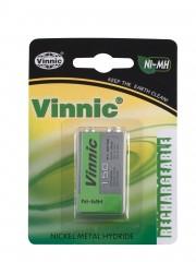 Baterie VINNIC blok 9V NiMH 150mAh 8,4V