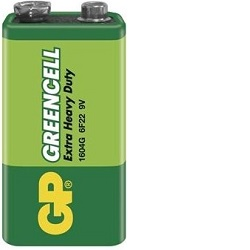 GP Greencell 9V 1ks 1604GLF-2S1 baterie