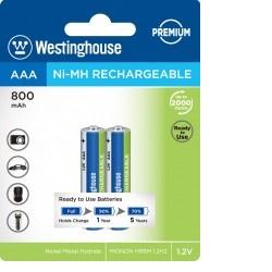 Baterie Westinghouse AAA 800mAh 2ks NiMH