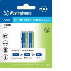 Westinghouse AAA NiMH 1000mAh 1,2V, blistr 2ks