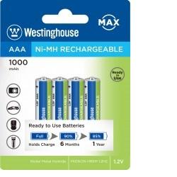 Baterie Westinghouse AAA 1000mAh 4ks NiMH