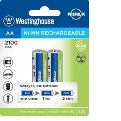 Baterie Westinghouse AA 2100mAh 2ks 1,2V blistr