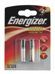 Baterie Energizer AAAA 2ks 1,5V, blistr alkalická