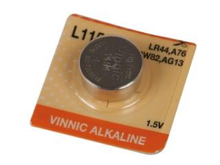 Baterie knoflíková VINNIC AG13, 1,5V alkalická