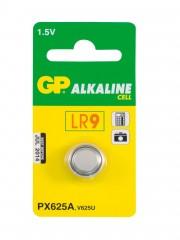 Baterie knoflíková GP 625A LR9 1,5V alkalická LR9