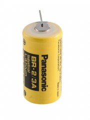 Baterie lithiová do DPS Panasonic BR2/3A 3V 1200mA