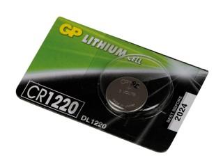 Baterie lithiová knoflíková GP CR1220 3V 36mAh