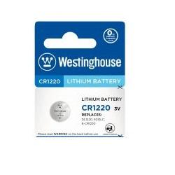 Baterie Westinghouse CR1220 1ks 3V lithiová knofl.