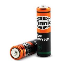 Baterie VINNIC SUM3 AA R6 ZnCL 1,5V sada 2ks