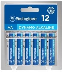 Baterie Westinghouse AA alkalická blistr 12ks LR6