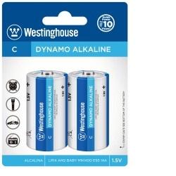 Baterie alkalická Westinghouse C/LR14 blistr 2ks