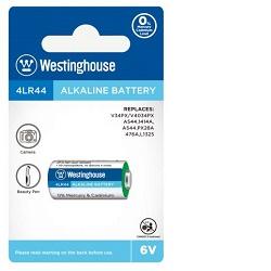 Baterie Westinghouse 4LR44 476A 6V alkalická L1325