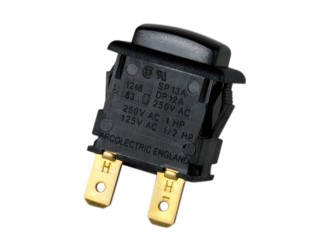 Tlačítkový spínač do panelu bez aretace P-H8301JE