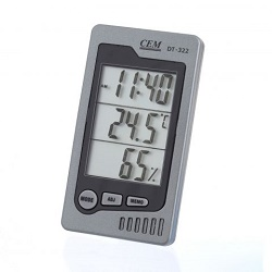 Univerzální měřič teploty a vlhkosti CEM DT-322