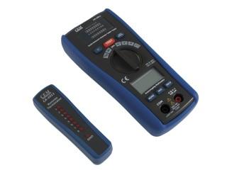 2 v 1 tester kabelů a multimetr CEM LA-1011