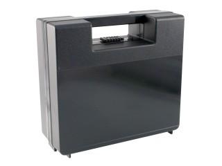 Plastový kufr na nářadí EVRA Kufr černý 230 x 220