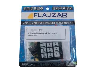 Flajzar KF2720 Kódový zámek s profi klávesnicí