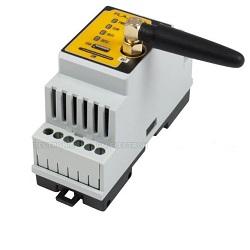 FLAJZAR GSM-DIN3B GSM ovládání na DIN lištu
