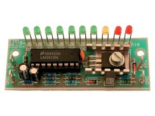 EZK AMJ3915SX VU metr s 10 LED Stavebnice