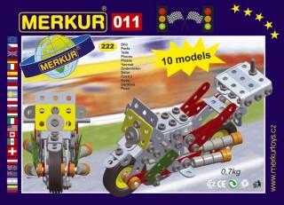 MERKUR M 011 Motocykl Stavebnice