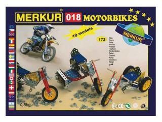MERKUR M 018 Motocykly Stavebnice