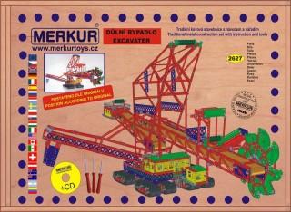 Stavebnice MERKUR Maxi rypadlo 18kg