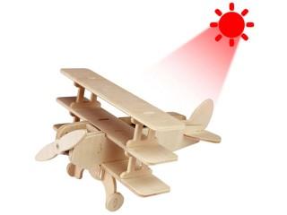 RoboTime P250 solární letadlo Dřevěná stavebnice