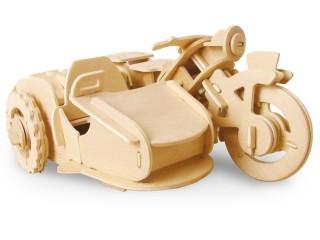 Dřevěná stavebnice Robotime RC V300 motorka