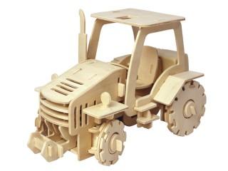 Dřevěná stavebnice Traktor na ovládání V420