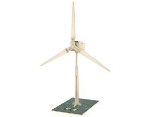 Dřevěná stavebnice RoboTime W100 solární větrná el