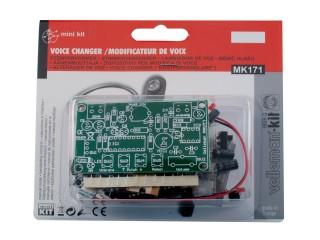 Velleman MK171 Elektronický měnič hlasu Stavebnice