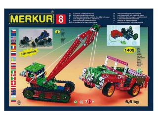 MERKUR M8 Stavebnice pětipatrová maxi