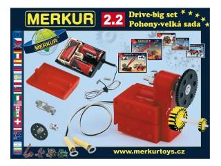 MERKUR M 2.2 pohony a převody Stavebnice