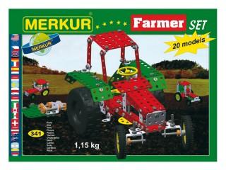 Stavebnice MERKUR FARMER Set