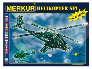 Merkur Helikoptér set Stavebnice