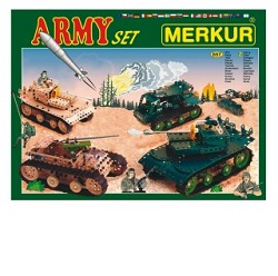 Merkur Army Set Stavebnice