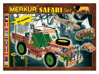 Merkur SAFARI Set Stavebnice
