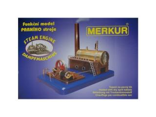 MERKUR Parní stroj MEDIUM Stavebnice