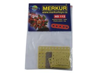 MERKUR ND 112 plastové desky velké 24ks