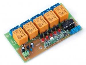 Stavebnice Flajzar KP5RX Přijímač s plovoucím kóde
