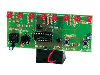 Stavebnice Velleman MK107 - Běžící světlo s LED